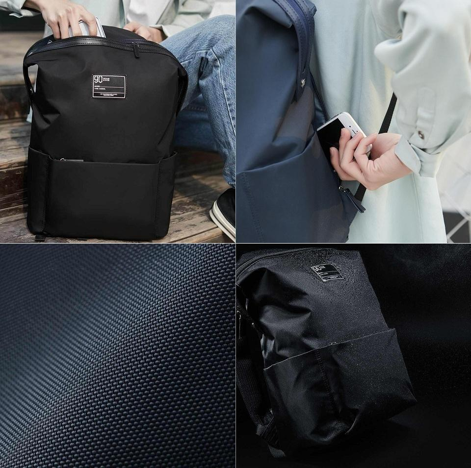 Рюкзак Xiaomi Lecturer Leisure Backpack White-Blue: Фото 5
