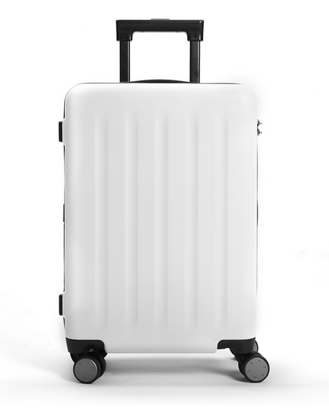 Чемодан Xiaomi 90FUN PC Luggage 20'' Moonlight White: Фото 1