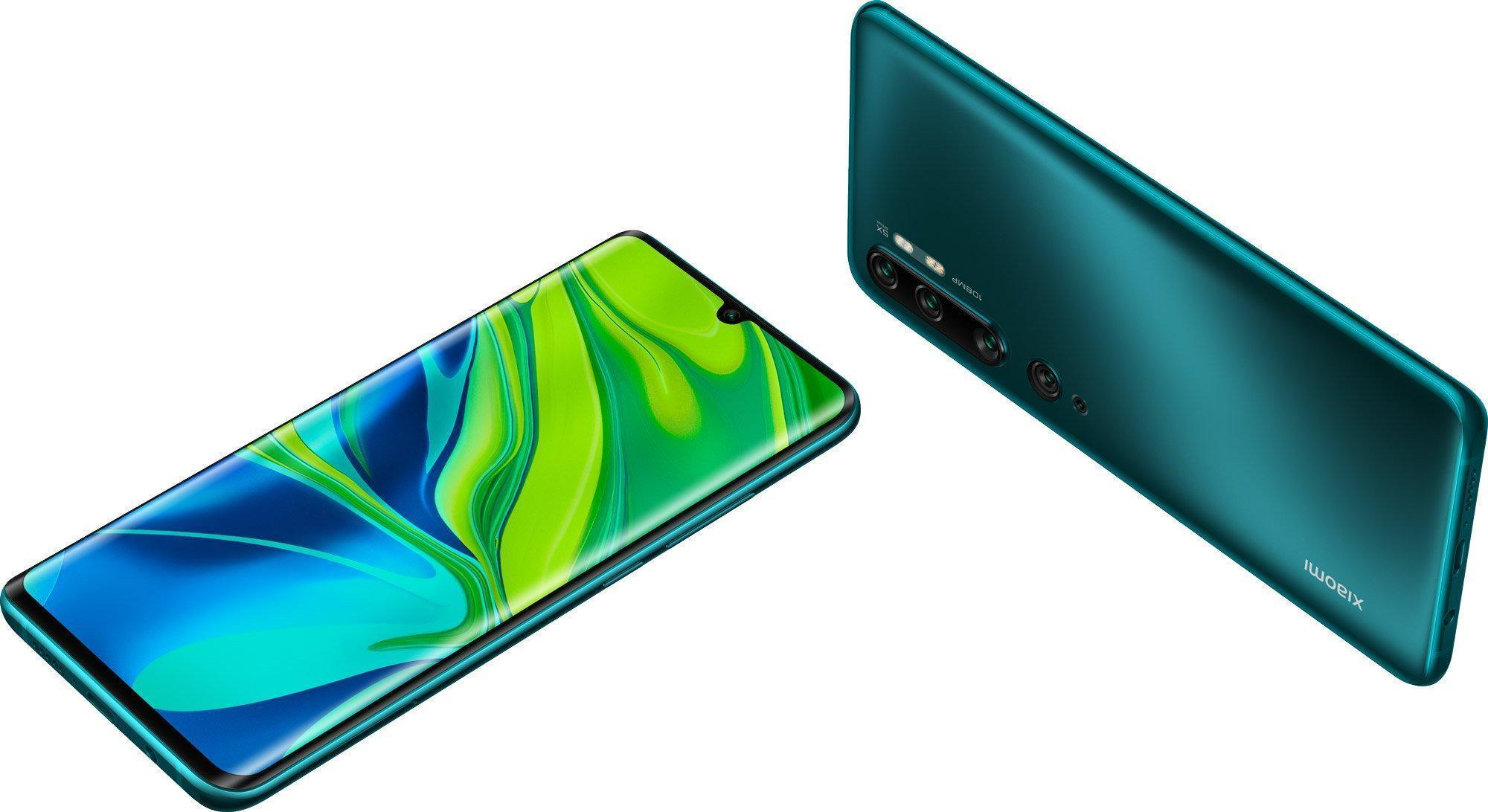 Смартфон Xiaomi Mi Note 10 6/128Gb Green: Фото 9