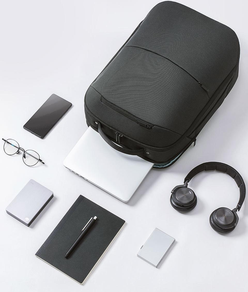 Рюкзак Xiaomi 90Points Multitasker Business Travel  Backpack Black: Фото 7