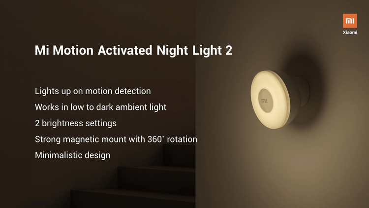 Ночник Mi Motion-Activated Night Light 2