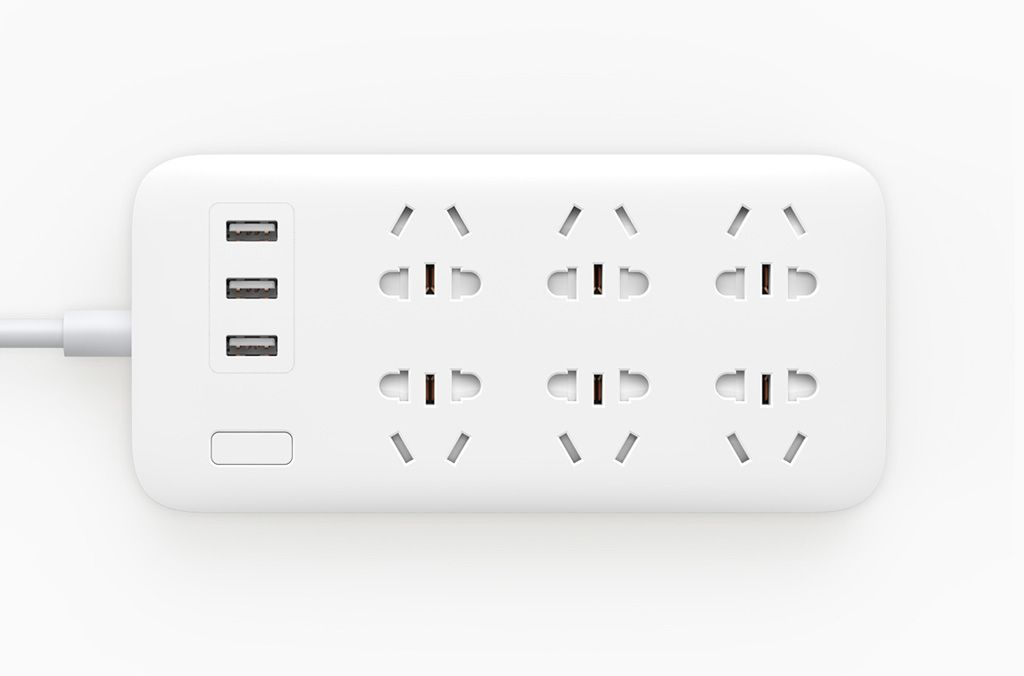 Mi Power Strip 6 розетки и 3 USB порта White_1.jpg