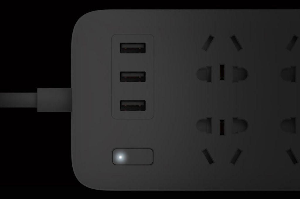 Mi Power Strip 6 розетки и 3 USB порта White_8.jpg