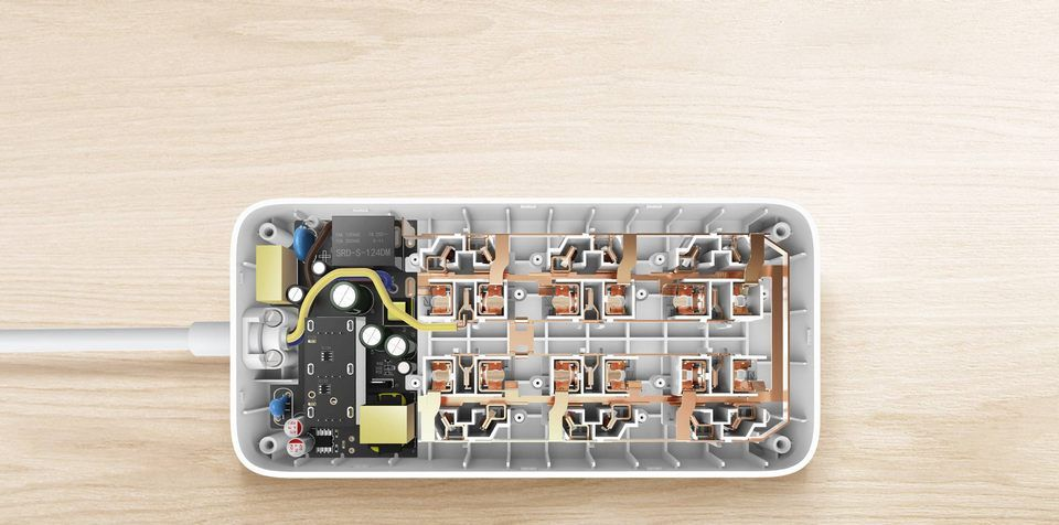 Mi Power Strip 6 розетки и 3 USB порта White_12.jpg